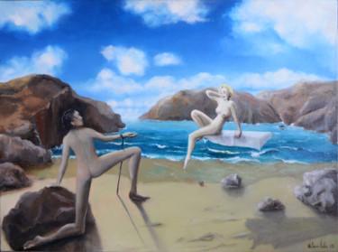 Le spectre de Dali aux pieds de Marylin